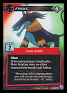 My Little Pony Ahuizotl Premiere CCG Card