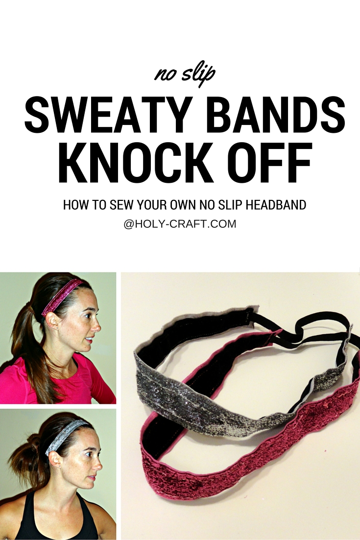 Sweaty Bands Knock Off Tutorial