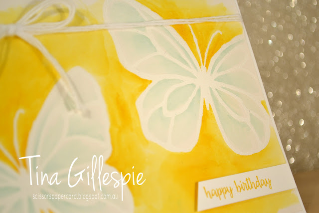 scissorspapercard, Stampin' Up!, Art With Heart, Colour Creations, Beautiful Day, Happy Birthday Gorgeous