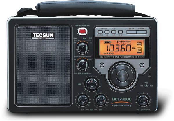 Радиоприемник Tecsun BCL-3000 с диапазонами FM и СВ и c непрерывным перекрытием коротковолнового диапазона по доступной цене