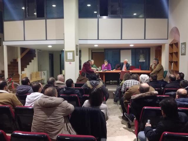 Συνάντηση Γ. Μανιάτη με Εκπαιδευτές Οδηγών στην Αργολίδα