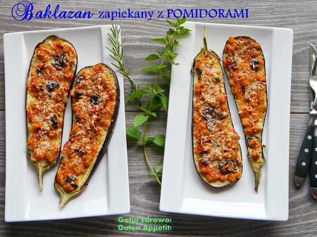 """Pyszny bakłażan zapiekany z ziołami i pomidorami z piekarnika - """"al forno"""" - Czytaj więcej »"""