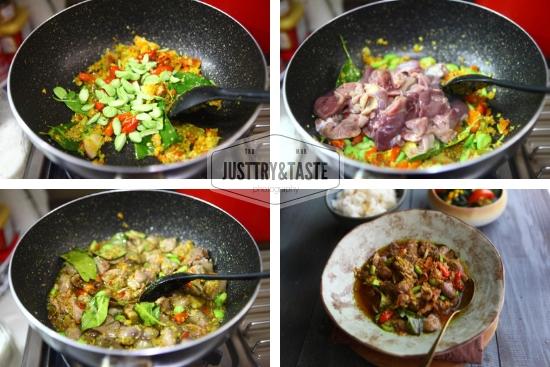Resep Oseng Mercon Hati Ampela Ayam JTT