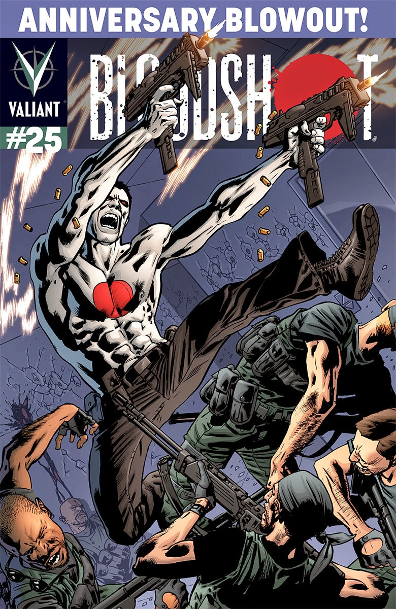 BLOODSHOT #25 – Variant Cover by Bryan Hitch
