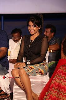Actress Sakshi Agarwal Stills in Floral Short Skirt at Jaikira Kuthira Audio Launch  0003.jpg