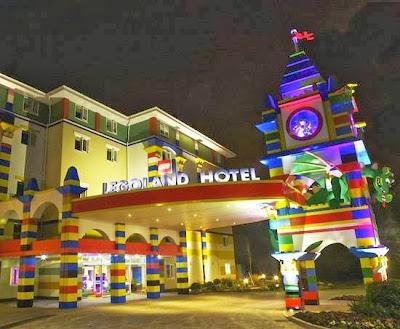 Teaser Hotel Legoland Malaysia | Tunggu Yer..!!!