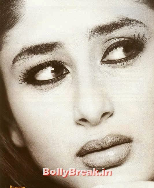 Kareena kapoor big eyes, Hot Unseen Pics of Kareena Kapoor from Early Days of her Career