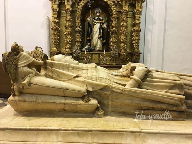 Monasterio Sancti Spiritus Toro tumba Beatriz de Portugal