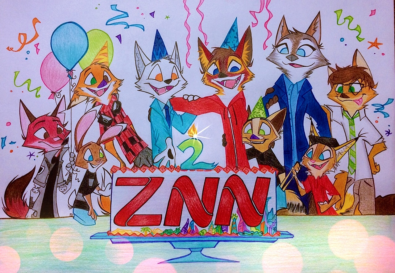 COME CELEBRATE ZNN'S SECOND ANNIVERSARY WITH US!!!