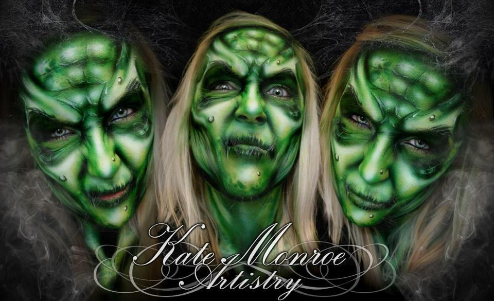 09-Halloween-Witch-Kate-Monroe-Face-and-Body-Painting-on-Human-Canvases-www-designstack-co