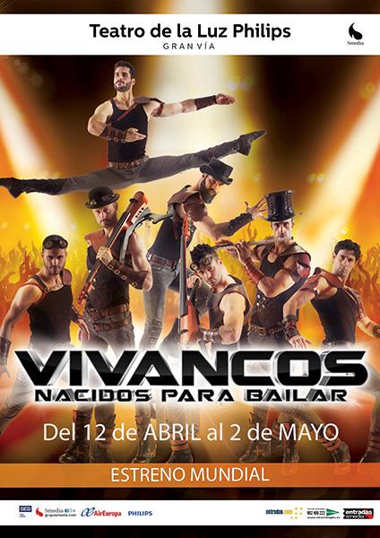 Los Vivancos vuelven a la Gran Vía con 'Born to dance'