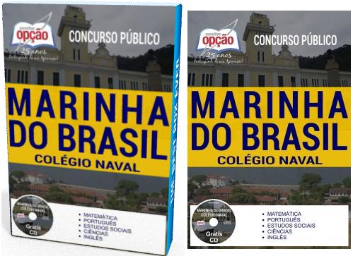 Apostila concurso Colégio Naval da Marinha do Brasil