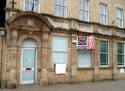 The former HSBC bank building in Brigg town centre