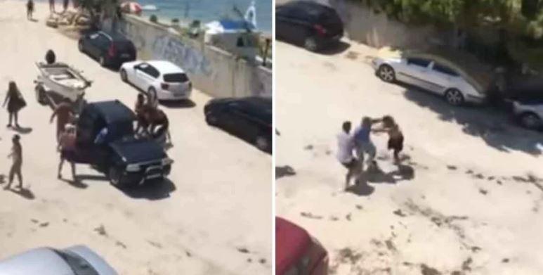 Μπουνιές σε παραλία της Χαλκιδικής! Ιδιοκτήτης βάρκας επιτέθηκε σε λουόμενους γιατί τον εμπόδιζαν (video)