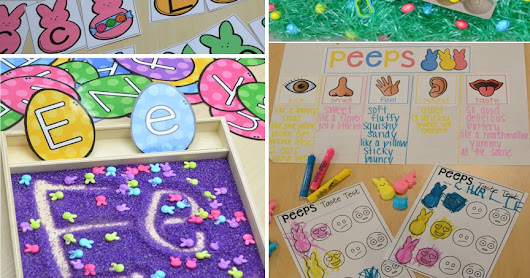 Easter Centers and Activities for Little Learners (Peep Freebie)