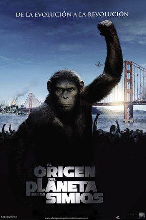 Poster Rise of the Planet of the Apes 2011