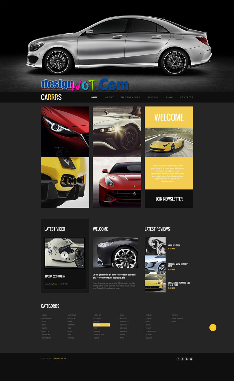 CARRRS Responsive WordPress Themes