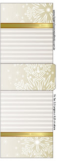Gold and Grey Free Printable Tic Tac Labels.