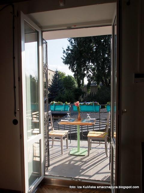 balkon , randka , obiad , bistro , test , blogerka kulinarna , menu , warszawa ,