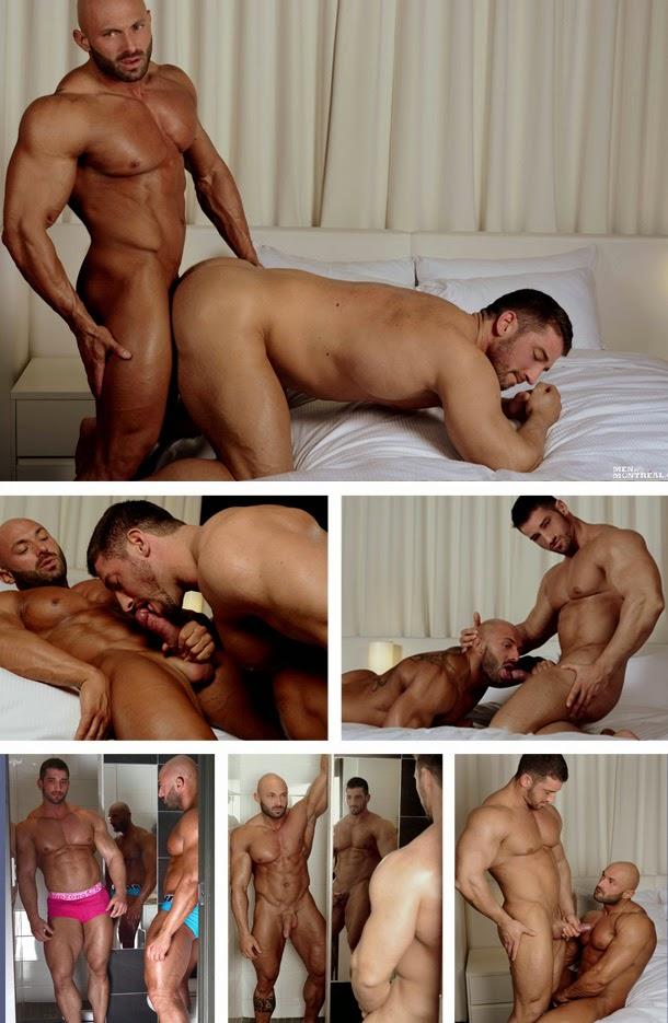 Sexo gay entre homens musculosos Max Chevalier Christian Power 2