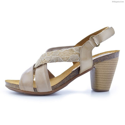 Sandalias de Cuero Mujer