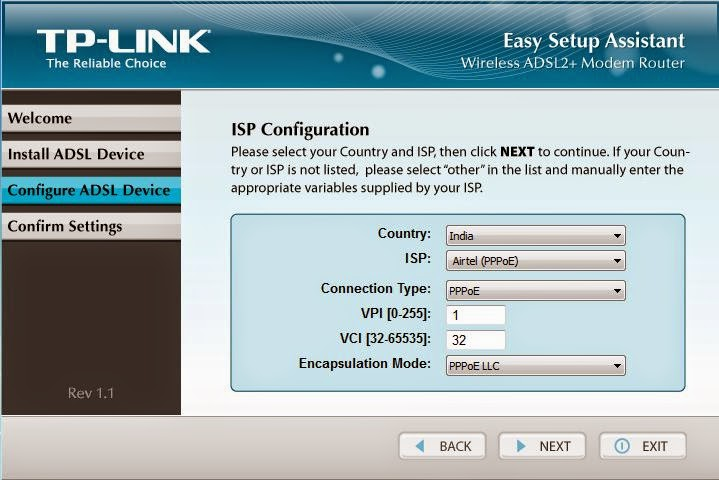SharPro: How to configure a TP Link wireless router with