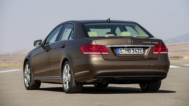 The new-generation Mercedes-Benz E-Class back side