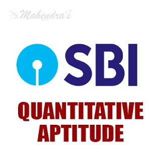 Quantitative Aptitude Questions For SBI Clerk Mains : 11 - 07 - 18