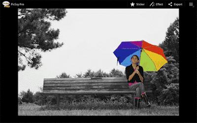 Aplikasi Edit Foto Melayang Android Picsay Pro - Photo Editor