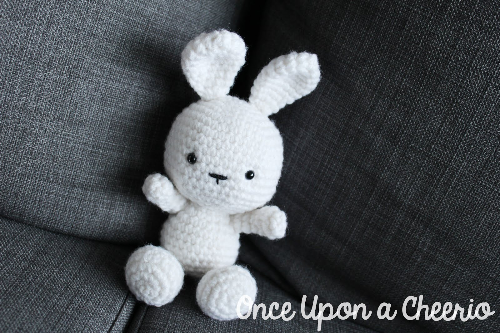 Classic Bunny Amigurumi by Once Upon a Cheerio