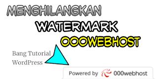 Cara Menghilangkan Banner Watermark 000webhost
