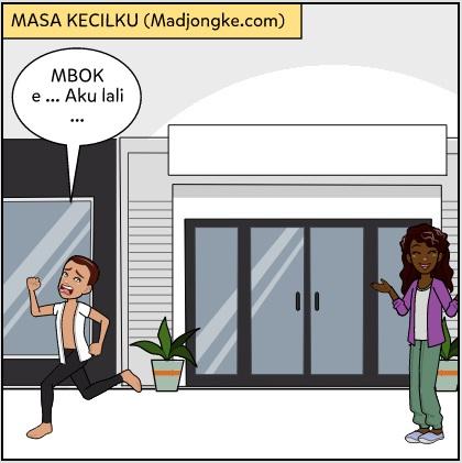 komik masa kecil bahasa jawa lucu