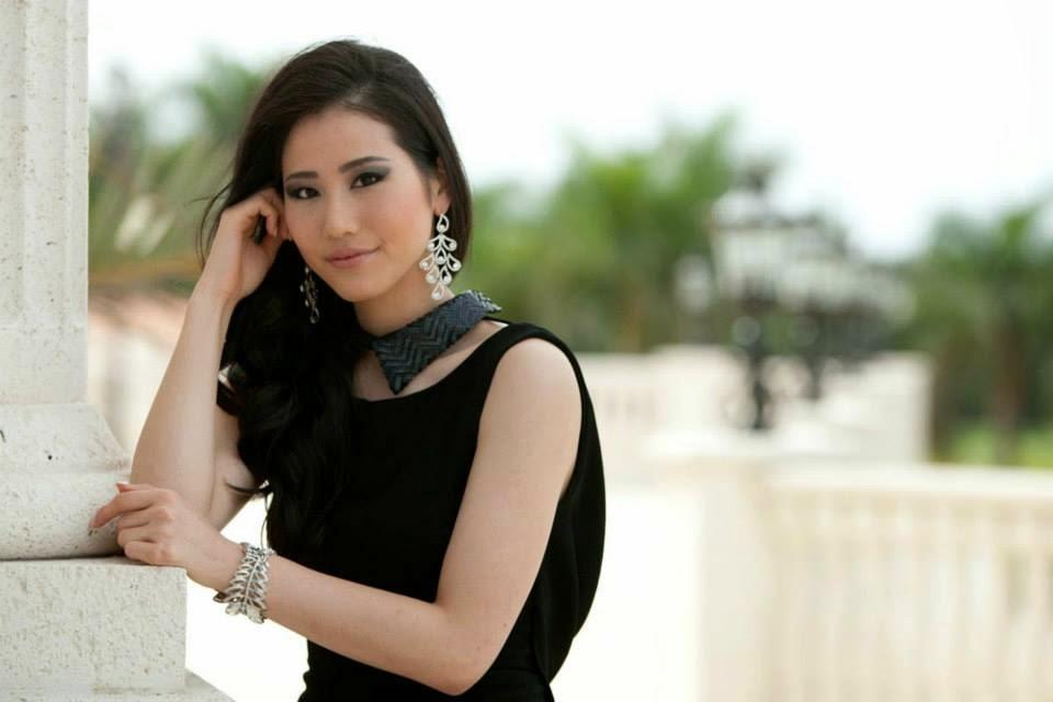 The Tiara Pageant Training Studio: Keiko Tsuji. Miss Universe Japan 2014. poses for photographs at the Trump National Doral Miami. — at Trump ...