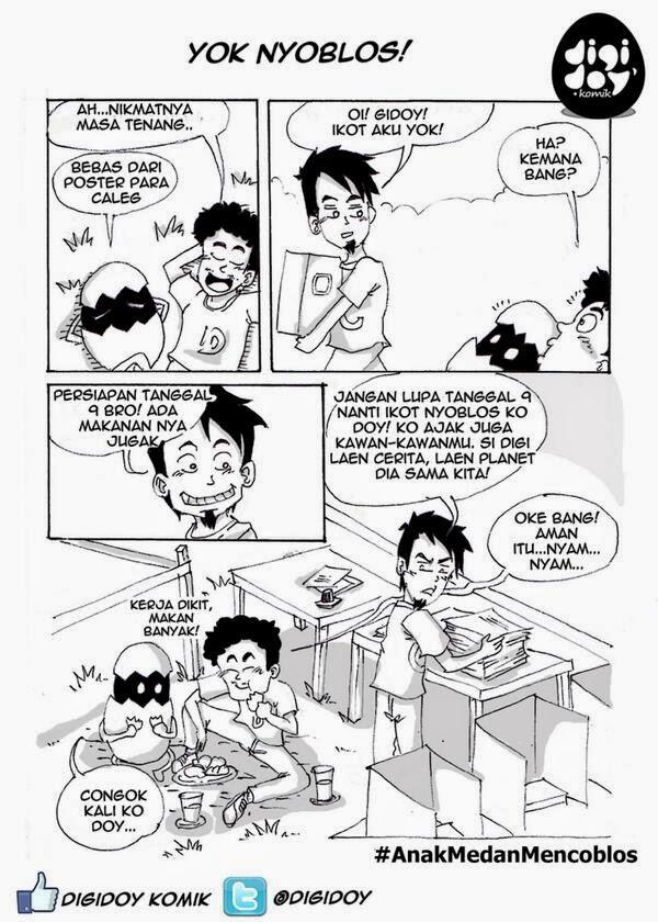 Anak Medan Mencoblos