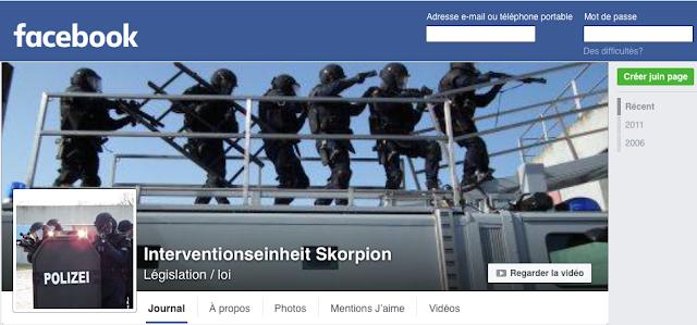 http://www.facebook.com/Interventionseinheit-Skorpion-256238331076324/