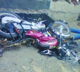 4 okada men crushed to death abuja