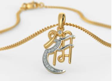 model kalung emas unik