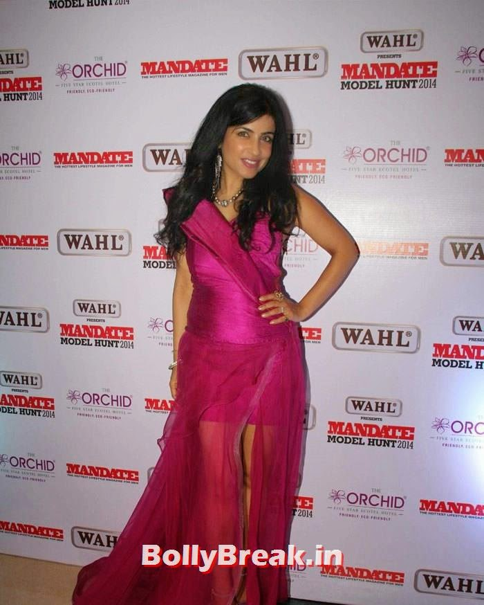 Shibani Kashyap, Mandate Model Hunt 2014 Grand Finale Photo Gallery