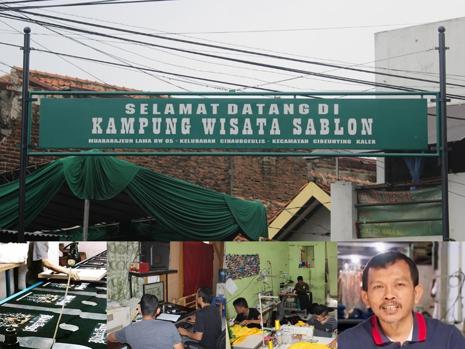 Kampung Wisata Sablon Muararajeun RW 5 Bandung