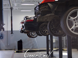 Porsche of Wichita Service Lifts