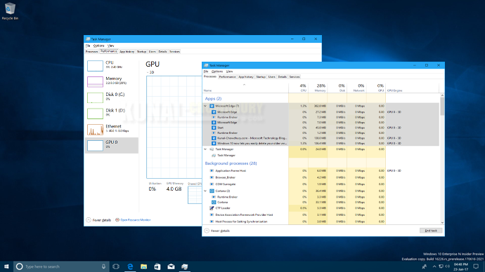 Windows 10 Fall Creators Update to add Grouped Processes and GPU Performance in Task Manager (www.kunal-chowdhury.com)