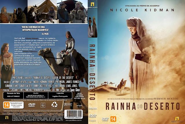 Capa DVD Rainha Do Deserto