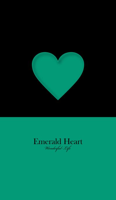 Simple Emerald Heart 3