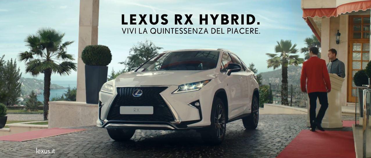 Canzone LEXUS RX Hybrid Pubblicità | Vivi la quintessenza del piacere