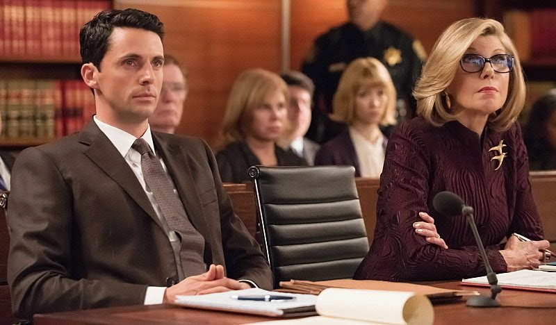 The Good Wife S06E15. Open Source finn polmar matthew goode christine baranski diane lockart