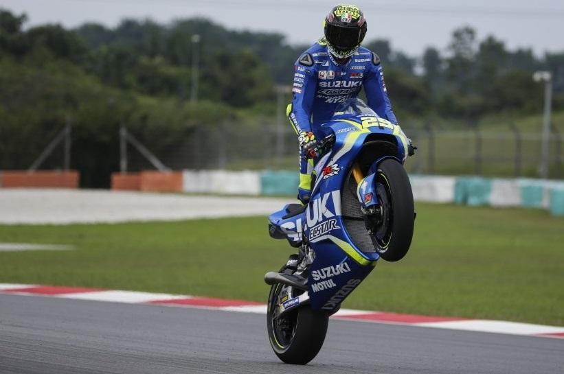 Posisi Ketiga, Podium Pertama Andrea Iannone Bersama Tim Pabrikan Suzuki