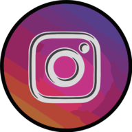 instagram glowing icon