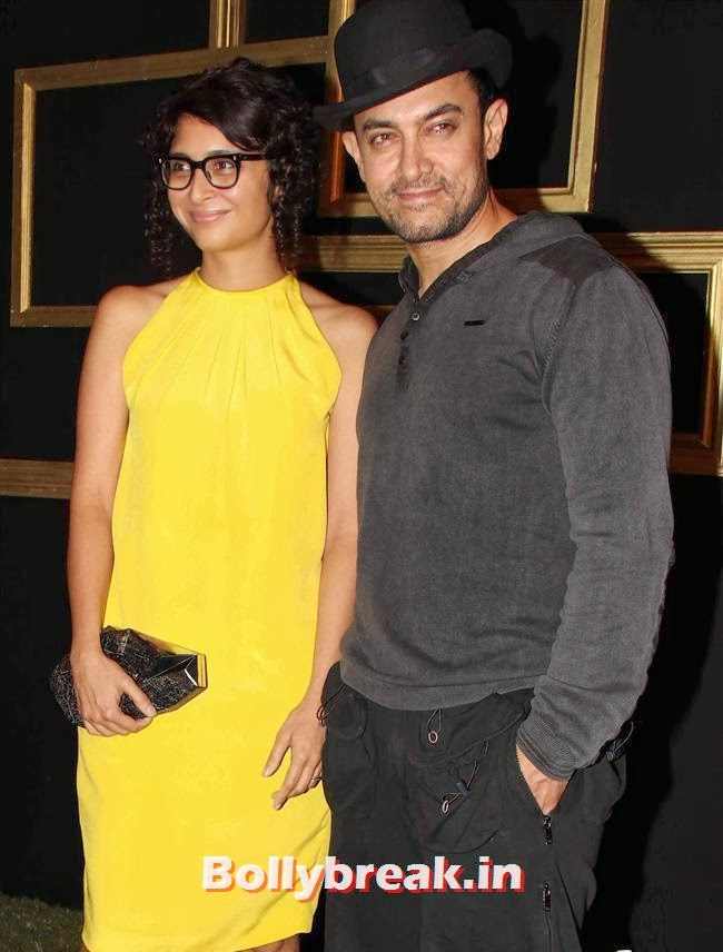 Kiran Rao and Aamir Khan, All Bollywood Celebs at Deepika Padukone Golden Party