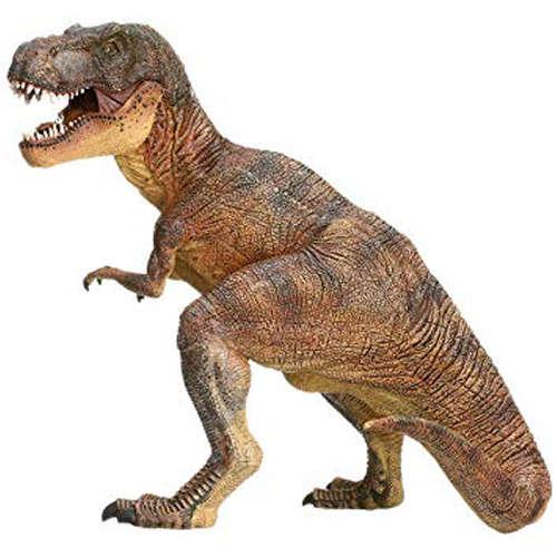 Papo- Figura Dinosaurio T-Rex 16,8X12,3X16,4CM, Multicolor (55001)