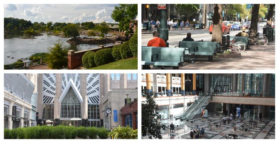 Grandes villes du Sud des Etats-Unis